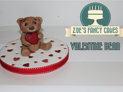 How to make a valentines heart bear figure for your cakes valentines special How To Tutorial