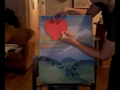 How to Paint a Hot Air Balloon Tutorial