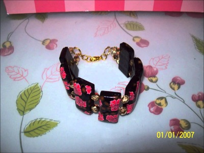 My polymer clay jewelry creations.wmv