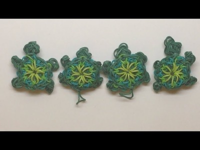 *NEW!* Kaleidoscope Turtle On 1 Rainbow Loom