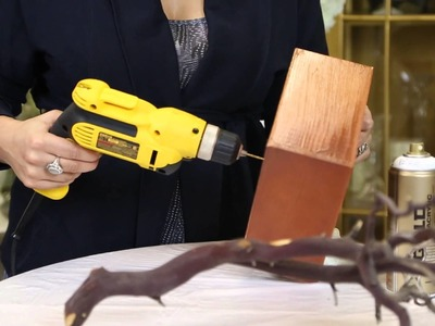 Painting Branches for Wedding Decorations : Wedding Decor