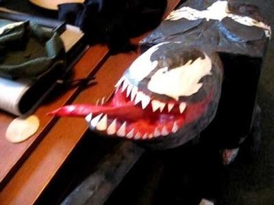 Paper Mache Venom