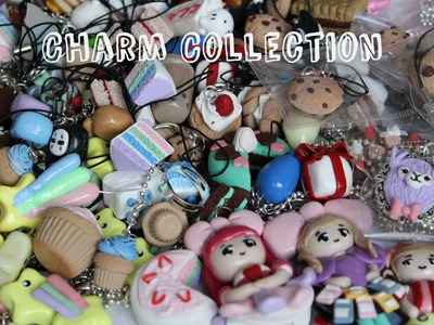 Polymer Clay Charm Collection {aka what I took to ONECon}