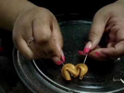 Polymer Clay Fortune Cookie Tutorial: PART 3