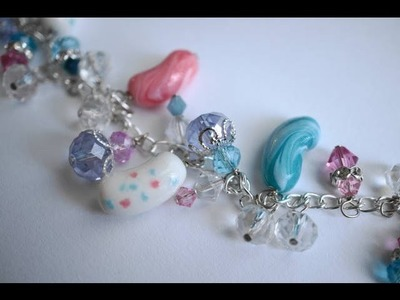 Polymer Clay Jelly Bean Bracelet Tutorial by Heather Wells