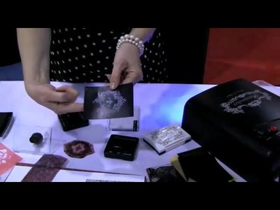Polymer Clay TV- stampmaker