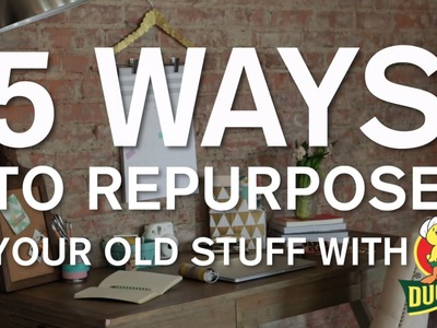 Recycling Crafts: 5 Ways to Repurpose Old Things with Duck Tape