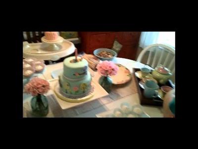 Scarlet's Birthday Cake- 2nd Cricut Cake