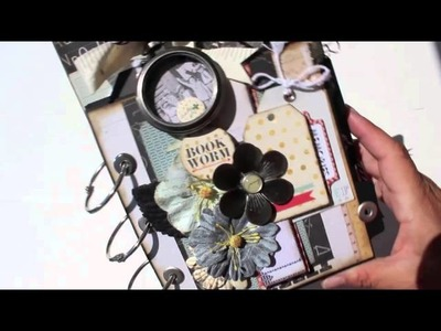 Scrapbooking Prima Clipboard Mini Album KIT ***NOW AVAILABLE*** HURRY!!