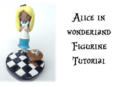 TUTORIAL: Polymer Clay Alice Figurine { Collab with Fabtastic_nikki }