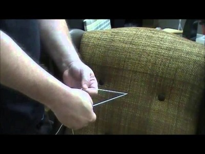 Upholstery Tufting Needle Syringe-How to