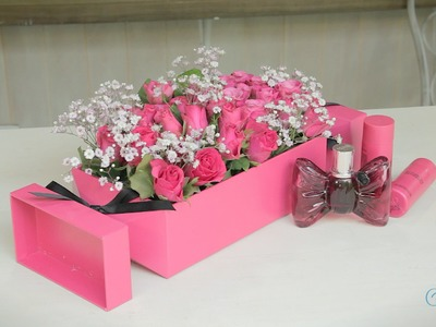 Valentine's Day Arts and Crafts: Perfume Box Roses