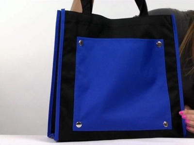 Artsy Color Pocket Tote Bags - TOT26