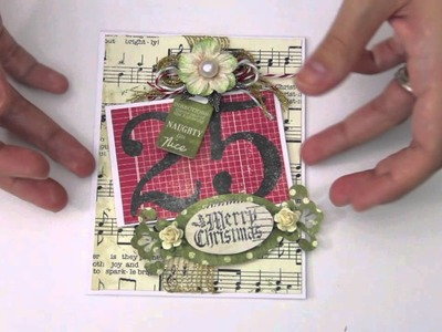 Christmas card share. Christmas tags. handmade.