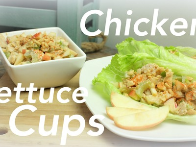 Crunchtastic Chicken Lettuce Cups | CHEAP CLEAN EATS