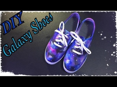 DIY Sharpie Galaxy Shoes