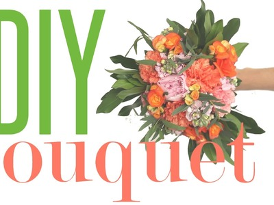 How to Make a Bouquet. DIY Flowers for your Wedding