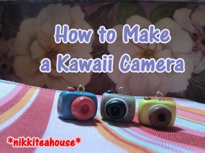How To Make a Kawaii Camera - Polymer Clay Tutorial