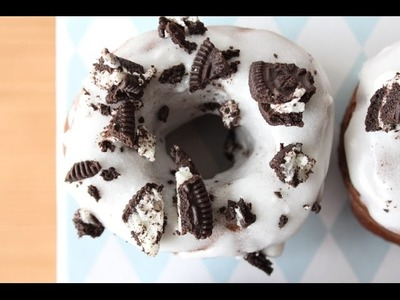 How To Make Oreo Donuts (Doughnuts) - By One Kitchen Episode 93