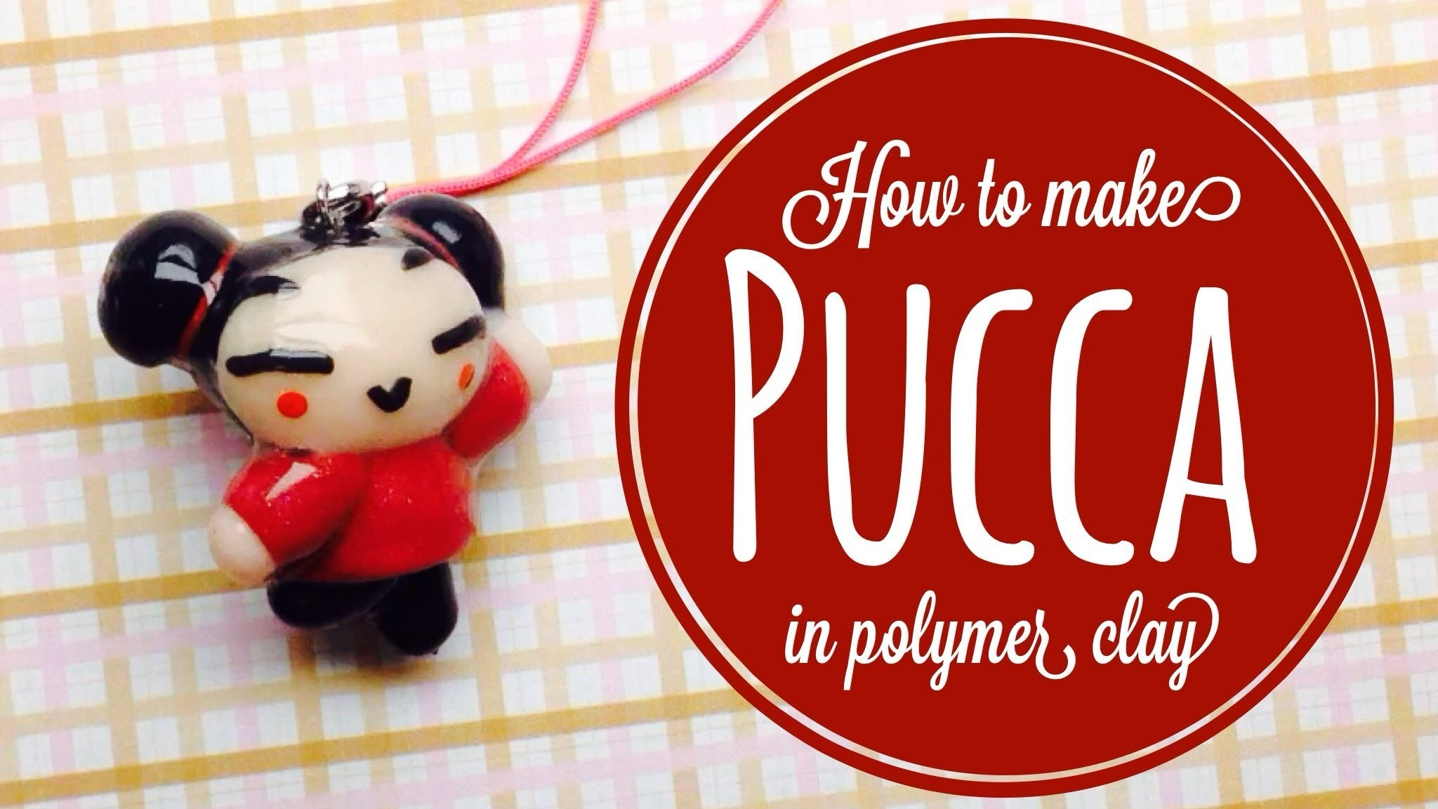 How To Make Pucca In Polymer Clay
