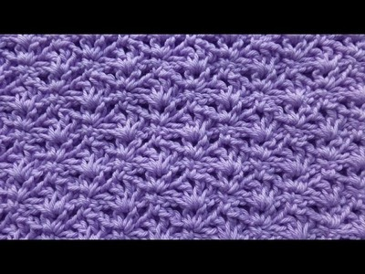 Knitaholics Advent Calendar 2014 * December 04 * Crochet Star Stitch with Archs
