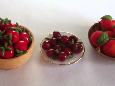 ~Miniature polymer clay food~