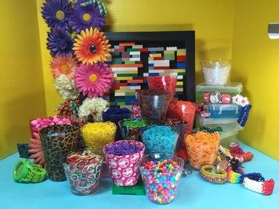 MORE Rainbow Loom Toy Surprise - Frozen Anna, Olaf, Dora Boots, Mike the Knight, Hello Kitty, Bratz