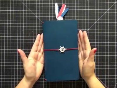Nautical Foxy Fix Travelers Notebook.Foxy Fori Set Up
