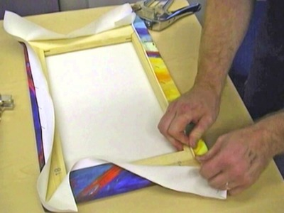 PermaJet guide on how to wrap a canvas print