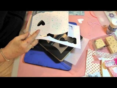 Pillow Box Tutorial with 3D Snowflake
