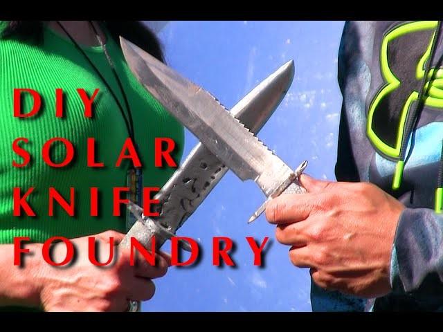 Renewable Energy Solar Fresnel Metal Foundry DIY greenpowerscience