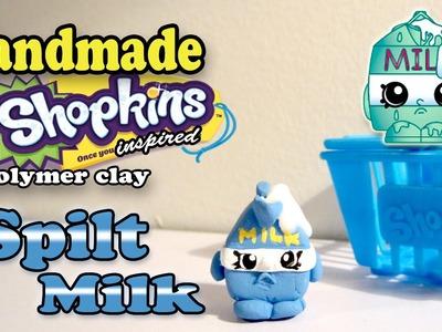 Season 1 Shopkins: How To Make Spilt Milk Polymer Clay Tutorial!