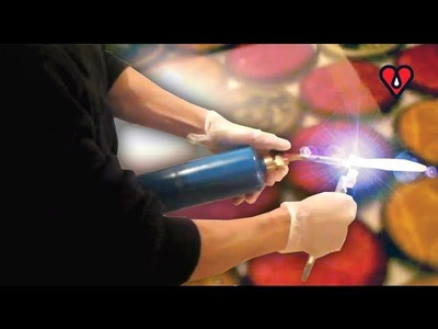 Why use a blow torch with ArtResin? CLOSE-UP SHOTS!