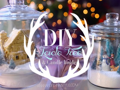 Winter Wonderland Terrarium Snow Globe | ANNEORSHINE