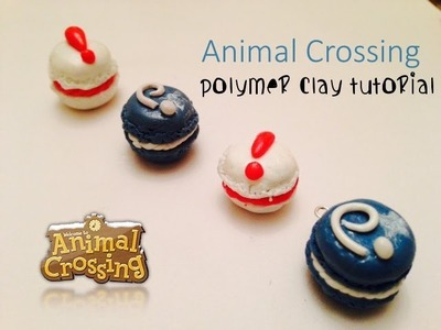 Animal Crossing Inspired Macarons: Pitfall Seed and Fossil (Polymer Clay Tutorial)