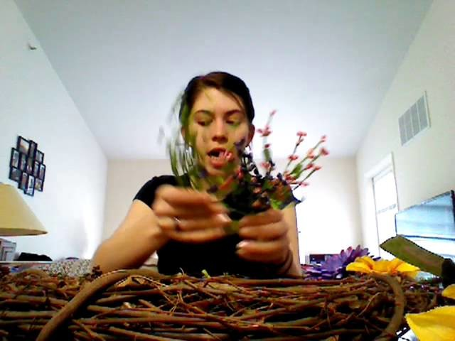 Beltane - Making a May Day Wreath!