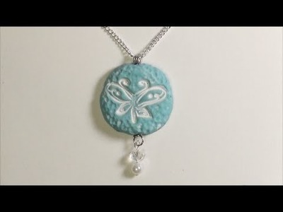Butterfly Pendant - Polymer Clay Tutorial