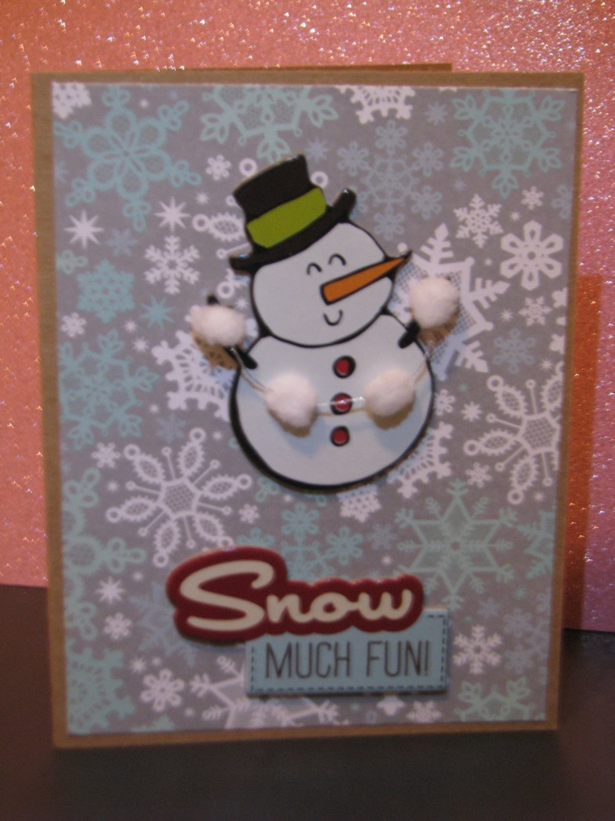 Christmas without the Cricut Card 4 of 12