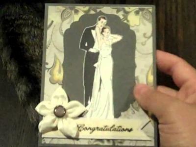 Congratulations.Wedding card