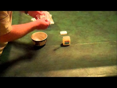 Cotton Ball and Petroleum Jelly Fire Starters