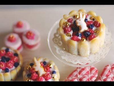 EASY Charlotte Cake Tutorial!