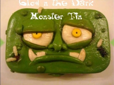 Glow in the Dark Monster Tin