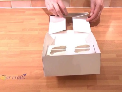 How to Assemble a Cupcake Box