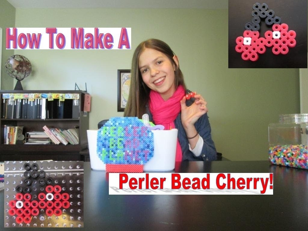 How To Make A Perler Bead Cherry