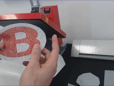 How to make a Rhinestone Car Decal with Bling-N-E-Thing™