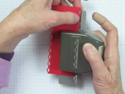 How to Use the Scallop Trim Border Punch.m4v