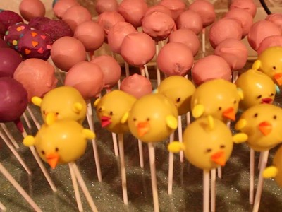 MAKING CAKE BALLS FOR THE FIRST TIME