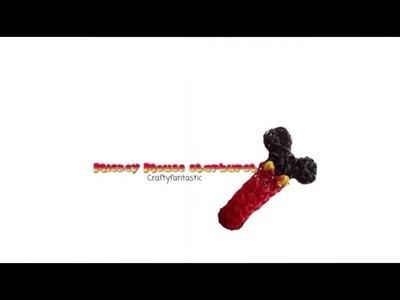 Rainbow loom Mickey Mouse Starburst bracelet