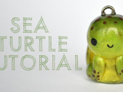 Sea Turtle Polymer Clay Tutorial
