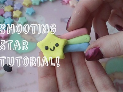 Shooting Star Charm Polymer Clay Tutorial